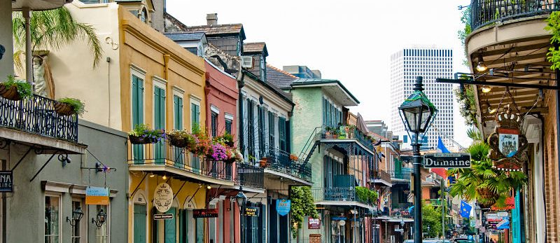 New Orleans has a strong economy from tourism