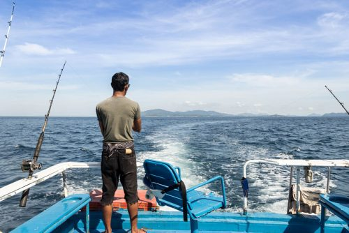Venice La fishing